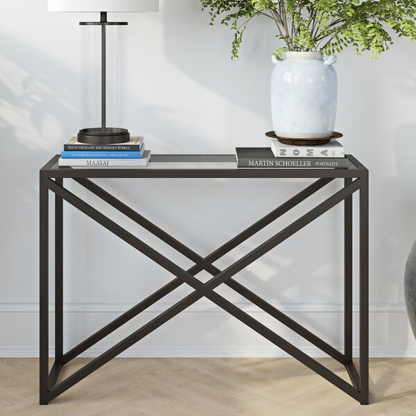 Mercer41 Black Console Tables