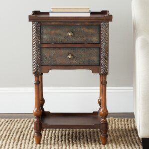 Bo 2 Drawer Nightstand by World Menagerie