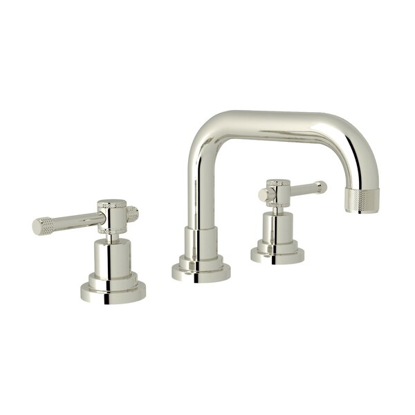 Campo U-Spout Widespread Bathroom Faucet with Drain Assembly by Rohl Rohl