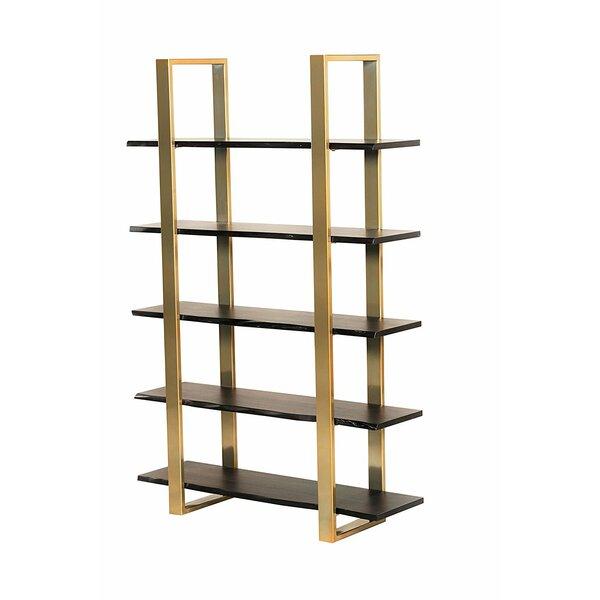 Bertram Modern 5 Tier Etagere Bookcase by Everly Quinn