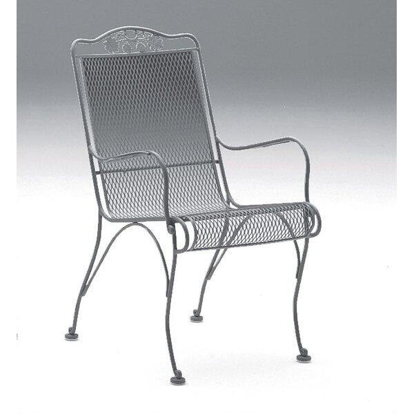 Briarwood High Back Dining Arm Chair by Woodard