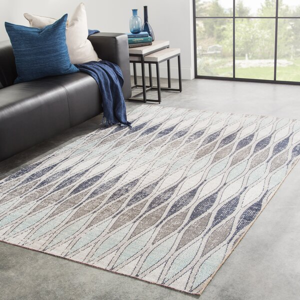 Boswell Brown/Gray Indoor/OutdoorArea Rug by Wrought Studio