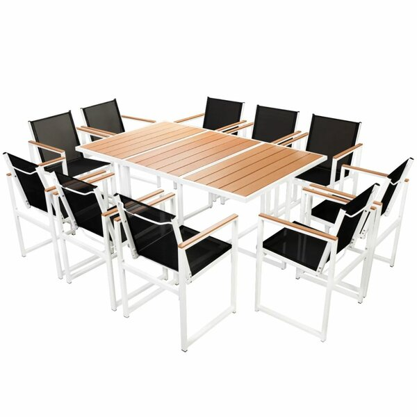 11 Piece Dining Set by Latitude Run