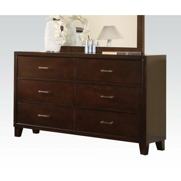 Rio 6 Drawer Double Dresser by Red Barrel Studio