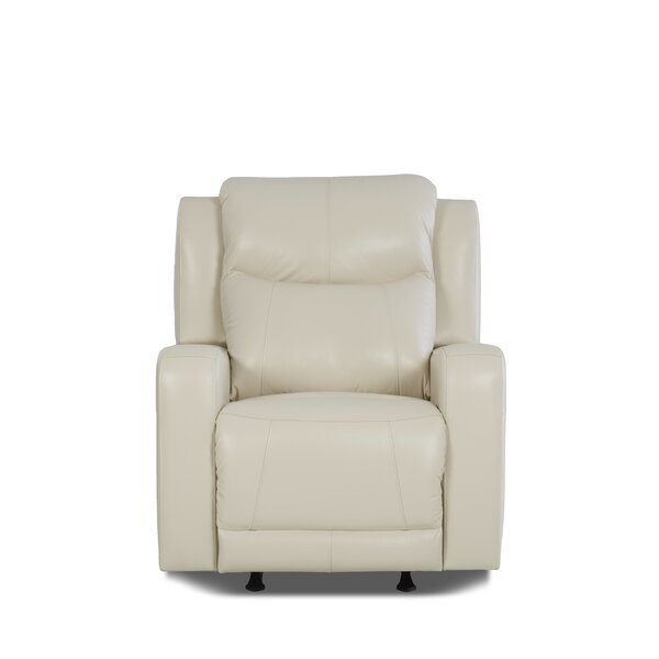 Theodore Leather Power Rocker Recliner RDBS8749