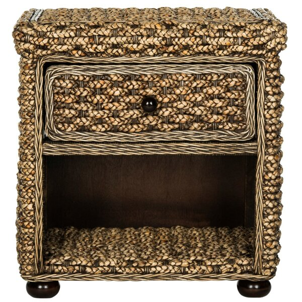 Plume 1 Drawer Nightstand by Bay Isle Home