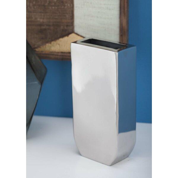 Cole Grey Stainless Steel Table Vase Wayfair