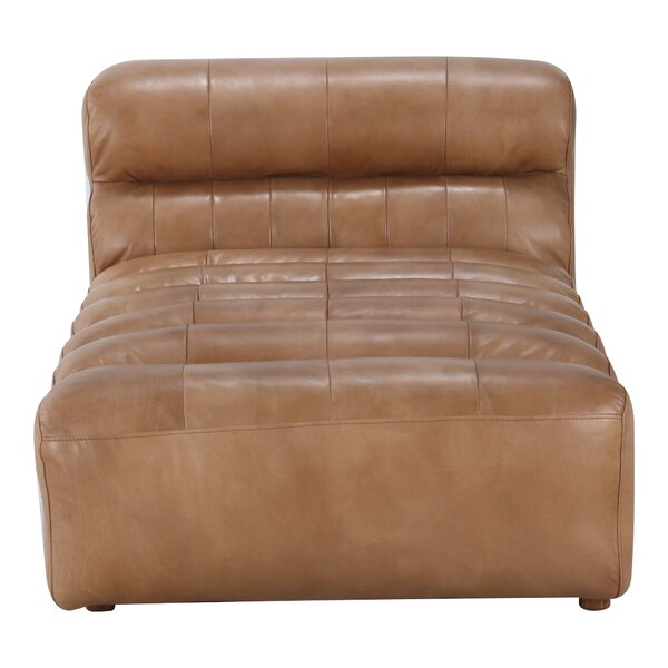 Ramsay Genuine Leather Modular 36'' Sofa Chaise By Latitude Run