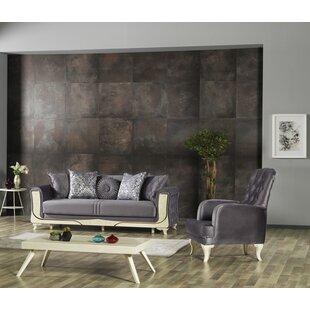 Hogans 2 Piece Sleeper Living Room Set by Rosdorf Park