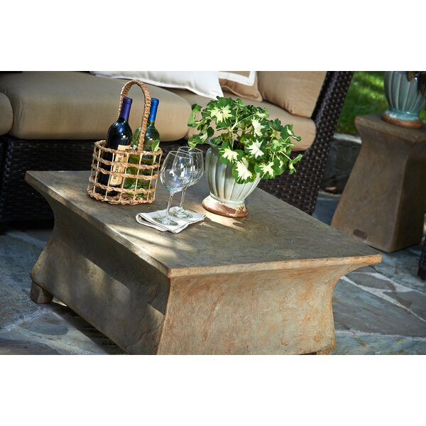 Astoria Stone/Concrete Coffee Table by Inspired Visions