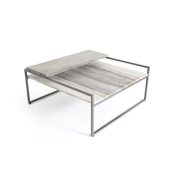 Arcade Coffee Table With Tray Top By Orren Ellis