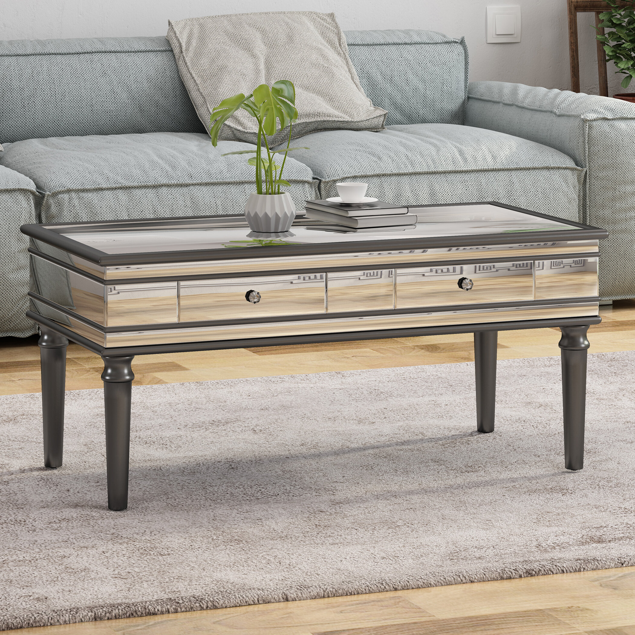 Swell Callender Coffee Table With Storage Machost Co Dining Chair Design Ideas Machostcouk