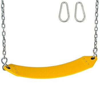 Residential Swing Seat with Chains and Hooks by Swing Set Stuff
