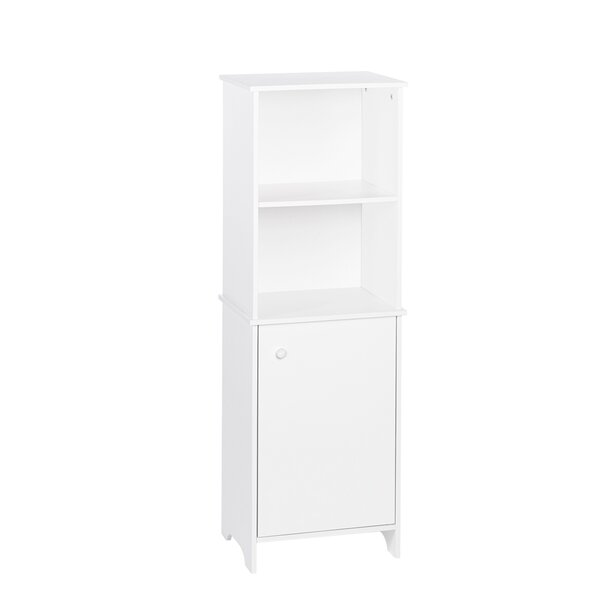 Xanthe 15.75 W x 46 H Linen Tower by Winston Porter