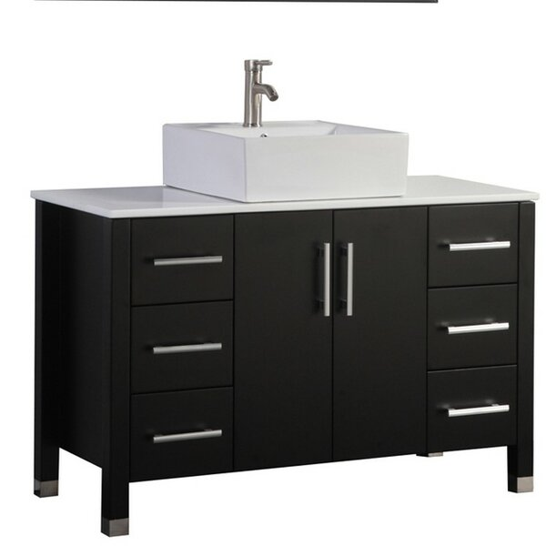 Larock Modern 47 Single Bathroom Vanity Set by Latitude Run