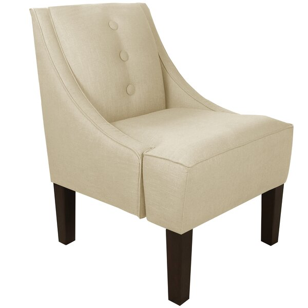 Moorcroft Swoop Armchair by Alcott Hill