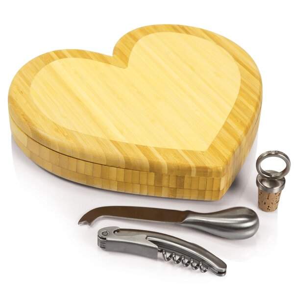Heart Cutting Cheese Tray by TOSCANA™