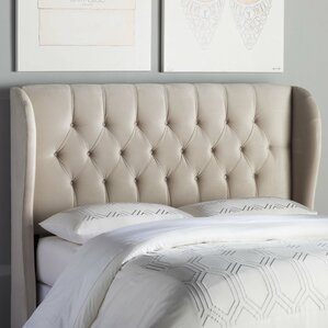 Giada Tufted Upholstered Wingback Headboard by Willa Arlo Interiors