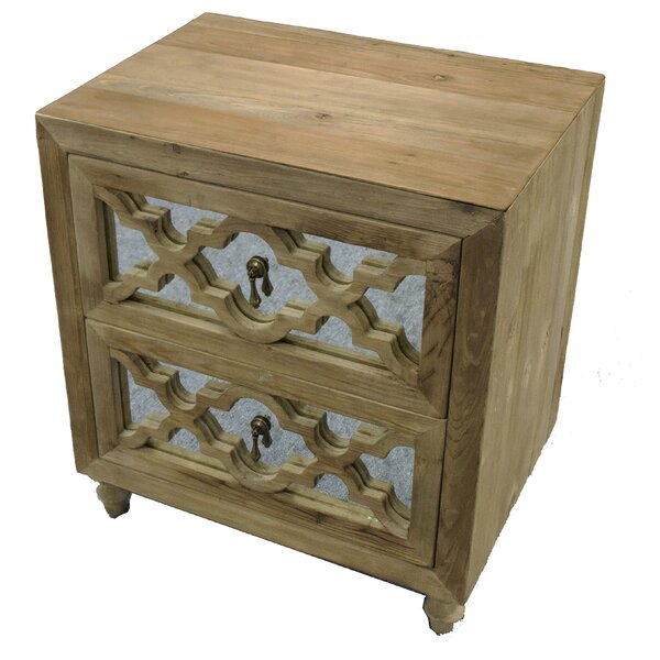 Llewellyn 2 Drawer Nightstand by 17 Stories