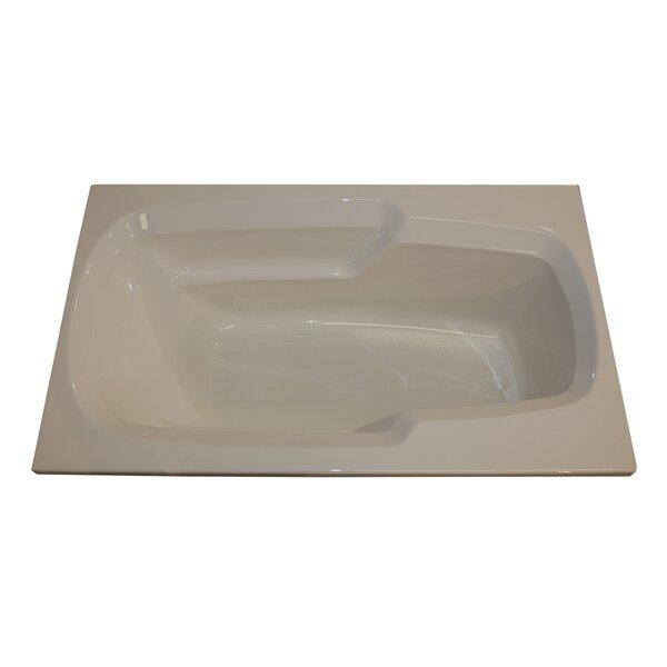 60 x 36 Arm-Rest Air Tub by American Acrylic