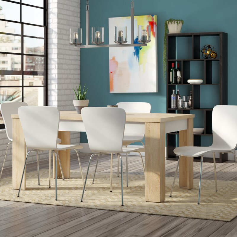 Completely new Mercury Row Algedi 7 Piece Dining Set & Reviews | Wayfair GV15