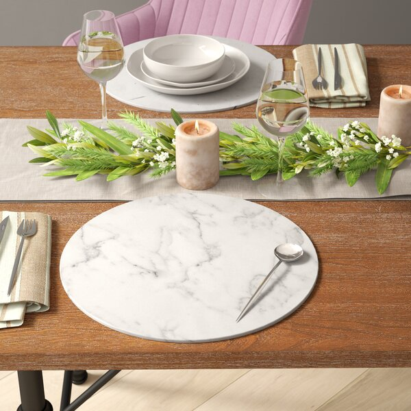 Claxton Marble Charger by Mint Pantry