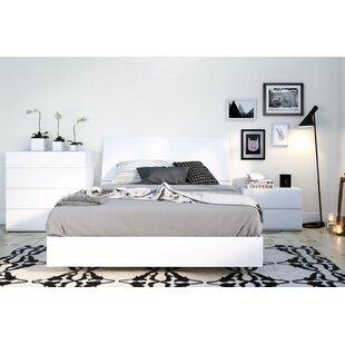 Ashe Platform 3 Piece Bedroom Set by Orren Ellis