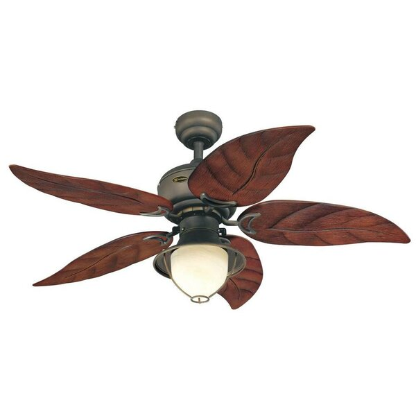 48 Soltero 5 Reversible Blade Ceiling Fan by Bay I