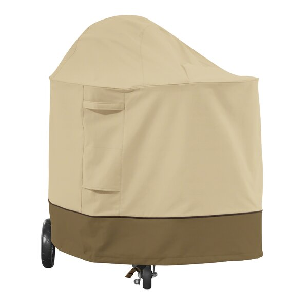 Croteau Charcoal Grill Cover - Fits up to 38.2 by Red Barrel Studio