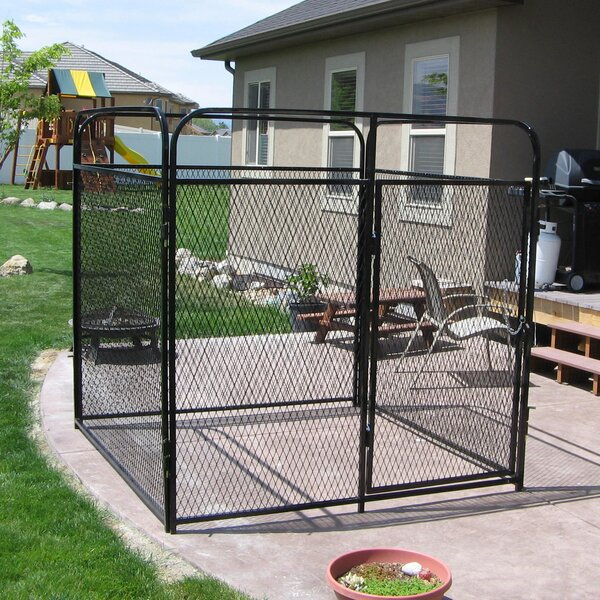 Basic Expanded Metal Yard Kennel by K9 Kennel
