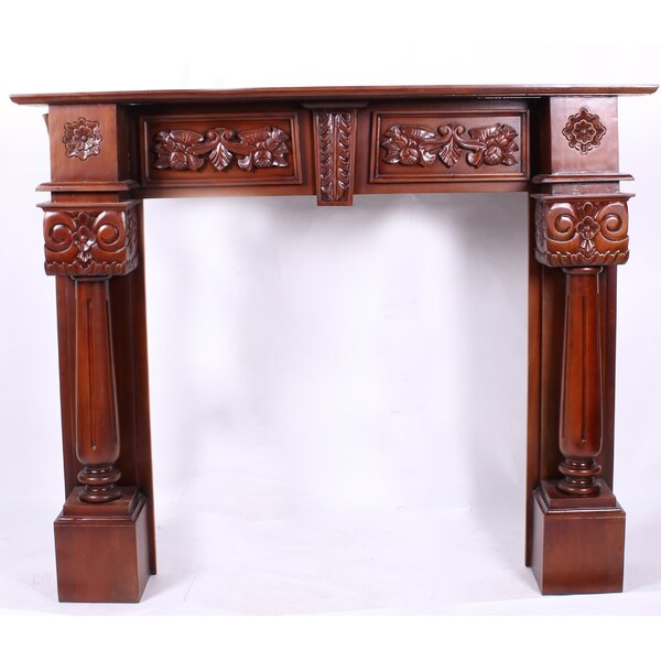 Fireplace Column Surround Mantel by America's Best Furniture