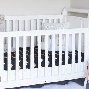 Buy luxury Cross Fitted Crib Sheet ByBambella Designs