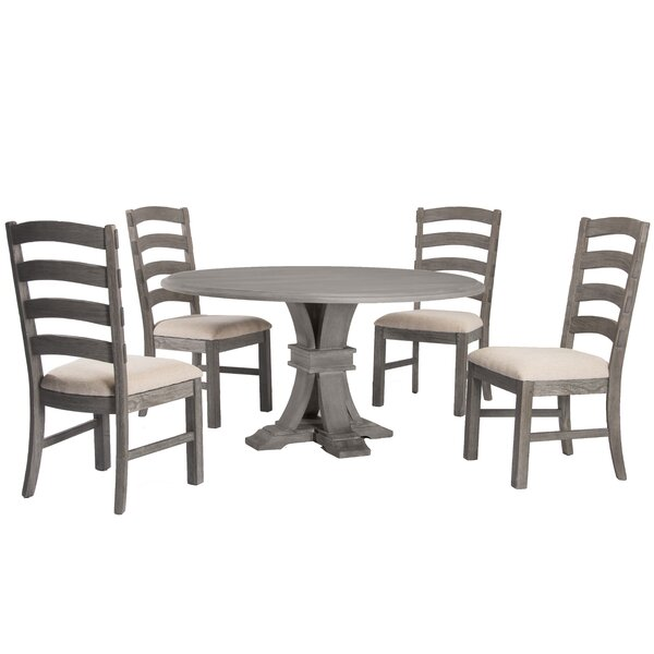 Celestia 5 Piece Dining Set by One Allium Way