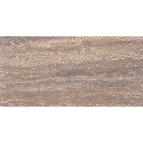 Pietra Venata 12 x 24 Porcelain Field Tile in Noce by MSI