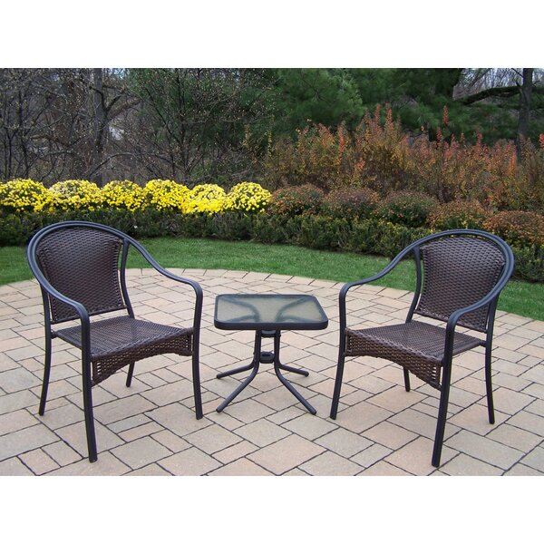 Tuscany 3 Piece Conversation Set by Oakland Living
