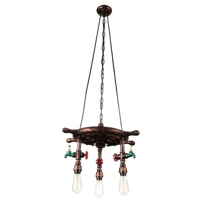 Mekhi 3-Light Novelty Chandelier Breakwater Bay