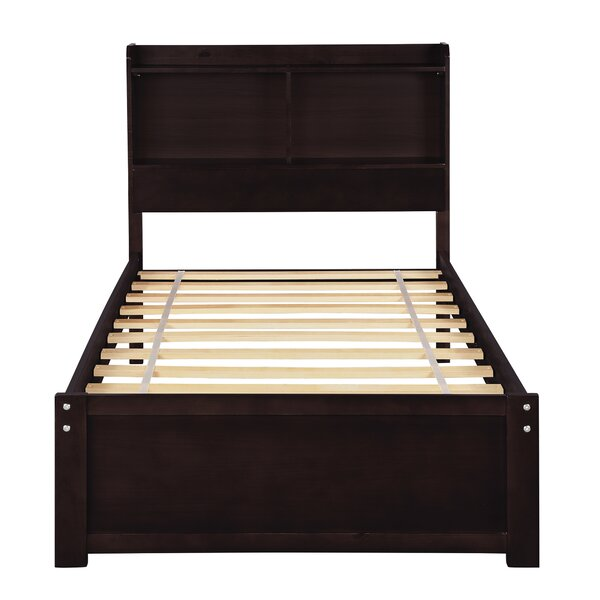 Chorio Bookcase Twin Platform Bed by Red Barrel Studio