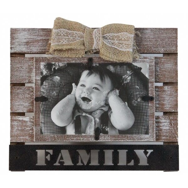 Doleman Ribbon Family Picture Frame by Gracie Oaks