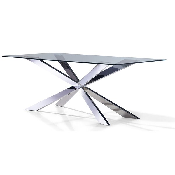 Mucklen Dining Table by Orren Ellis Orren Ellis
