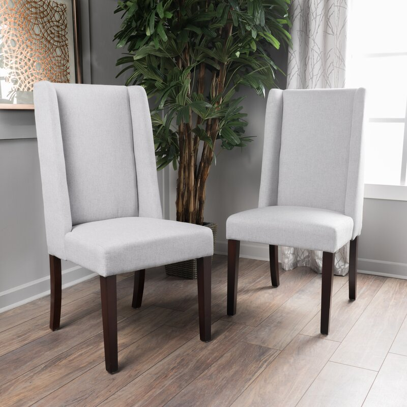 Latitude Run Harlow Upholstered Dining Chair & Reviews