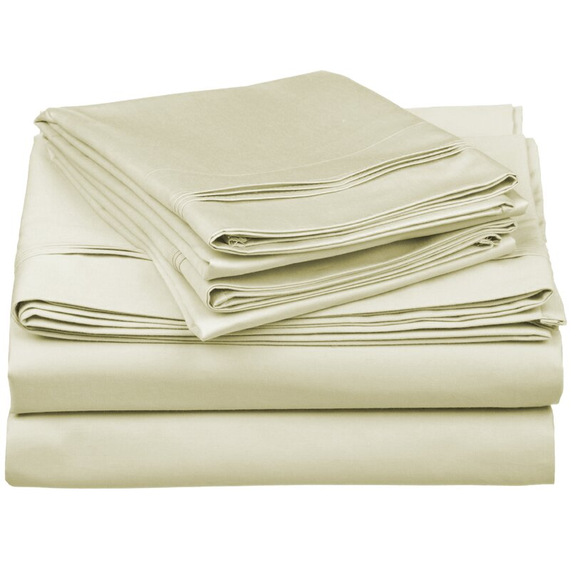 superior 650 thread count 100 cotton sheet set
