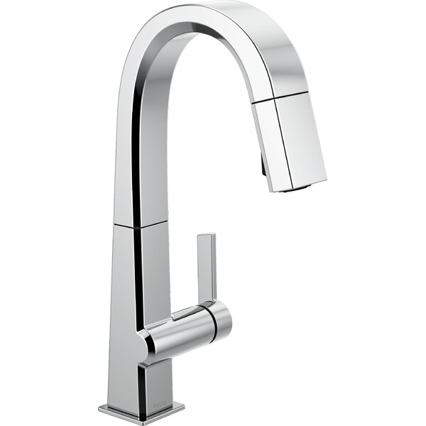 Pivotal Pull Down Touch Bar Faucet with Touch20 Technology by Delta