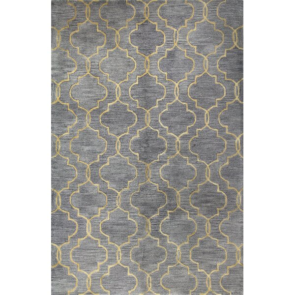 Valley Hand-Tufted Gray Area Rug by Darby Home Co