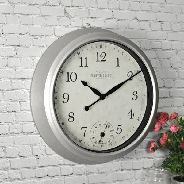 Porch 14.5 Wall Clock by FirsTime