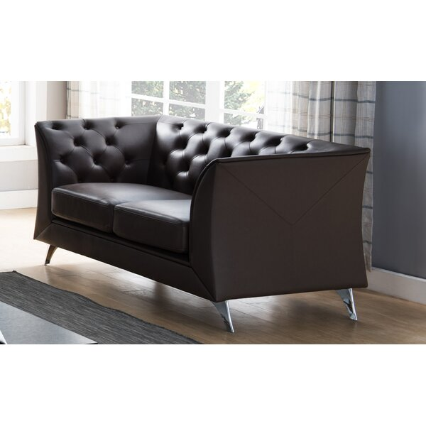 Nampa Chesterfield Loveseat by Orren Ellis