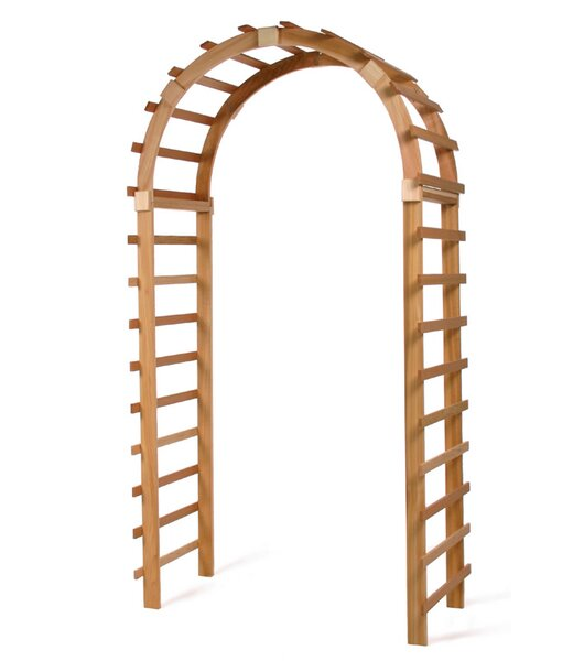 Trellis Wood Arbor by All Things Cedar