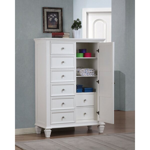 Draughn Sleek 7 Drawer Gentlemans Chest by Darby Home Co