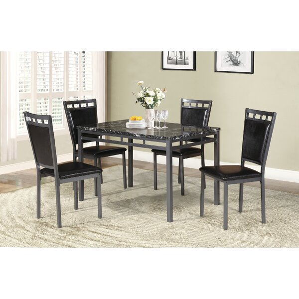 Cassidy 5 Piece Dining Set by Red Barrel Studio