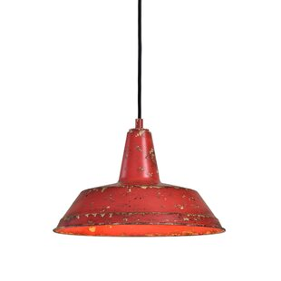 Top Reviews Castle Distressed 1 -Light LED Dome Pendant By Williston Forge