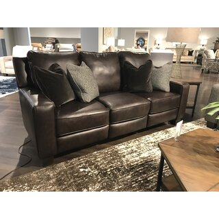 West End Leather Reclining Sofa by Southern Motion SKU:BE550727 Purchase